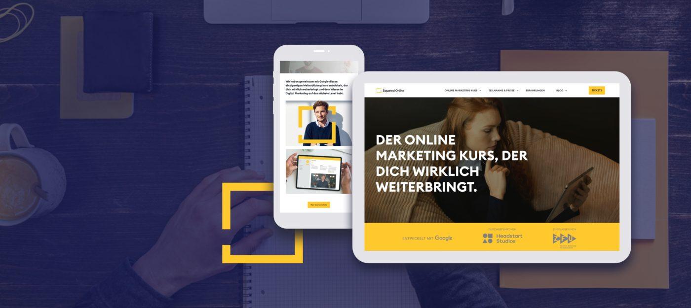 Squared Online Webdesign
